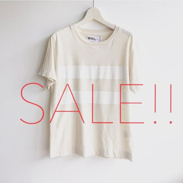 .SUMMERSALE!!30%〜50%off!好評開催中です︎.#mhl#margarethowell #SALE#hausmatsue #島根 #松江