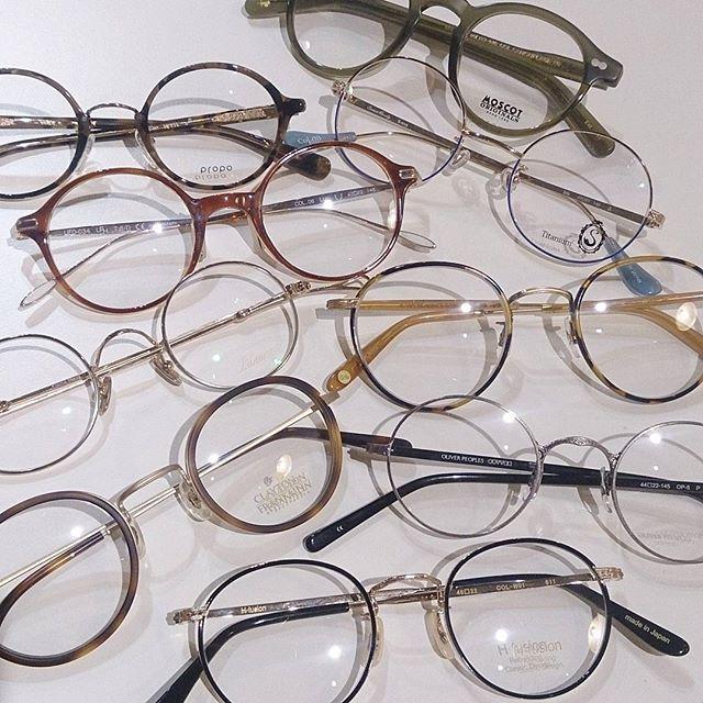 印象の違いにビックリしますよ。丸メガネにも色々あるんです。詳しくは@haus_megane をご覧下さい。
