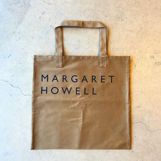 .秋色のHOUSEHOLDのロゴトート届きました︎.しっかりしたコットンパンプのバッグはメインのバッグにも旅行のサブバッグとしても◎.#margarethowell #householdgoods #cotton logo bag#cotton##logobag #totebag#頒布#日本製#ロゴトート#bag#hausmatsue #島根#松江