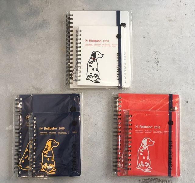.Rollbahn 2018 ダイアリー入荷しました ︎2018年の干支を配したドッグ柄です!.「シンプルで飽きのこないデザイン」と「使いやすさ」でノートでも定番のシリーズ「ロルバーン」ダイアリー。.中身は使いやすいマンスリータイプでフリーページとポケット付きです。.サイズは2種類、カラーは3色。2017年10月始まりなので今からでもお使いいただけます ..#Rollbarn #ロルバーン#2018手帳 #戌#ダルメシアン#マンスリー手帳 #hausmatsue #島根 #松江