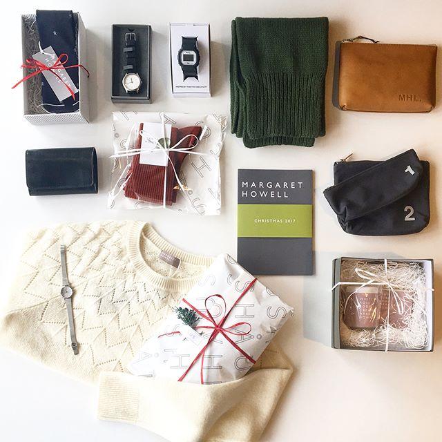 .いよいよ今週末はXmas🌲さあ、何を贈ろう。.悩んだらHÅUSへまだまだ間に合いますよサンタさんたち。.もっとたくさん見たい方はこちらへどうぞ@haus_howell .#margarethowell #MHL#Xmas#Christmas#gift#hausmatsue #島根#松江