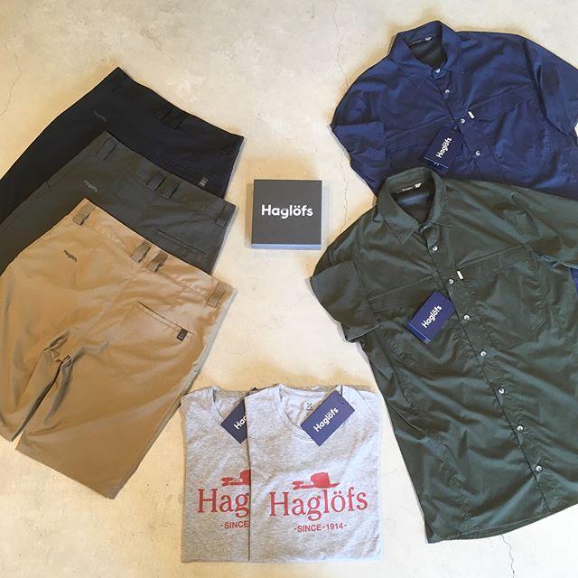 .スウェーデン発、100年以上の歴史を持つ老舗アウトドアブランド、「Haglöfs(ホグロフス)」。夏物のウェアは今からの時期に重宝する事間違いなし。サラッと軽やかな生地感は蒸し暑い山陰の夏にぴったりです。ぜひ店頭にご覧にお越しください◎.#haglofs #ホグロフス#アウトドア#outdoor#haus#haus_matsue#hausmatsue #松江カフェ #島根カフェ#松江 #島根 #山陰