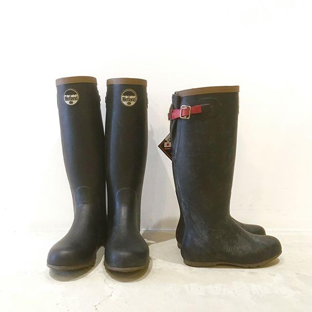 .長靴生産の本場、北海道小樽で生産される「wetland」の折り畳み長靴。高品質な天然ゴムが使われているため、ひびや割れが出にくく長持ちする仕様です。付属のゴムバンドを用いてコンパクトに折り畳む事も可能。農作業やガーデニングは勿論、天候が不安定になりがちな山中でのレジャーにも活躍します◎.#a&f#wetland#outdoor#アウトドア#長靴#haus #haus_matsue #hausmatsue #松江カフェ #島根カフェ #松江 #島根 #山陰