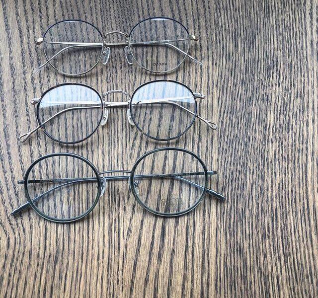 ちょっと大きめ丸メガネ・かわいくかける丸メガネ入荷してます・#optical#めがね#hausmatsue #島根#松江#松江メガネ#生活に寄り添うメガネ#丸メガネ