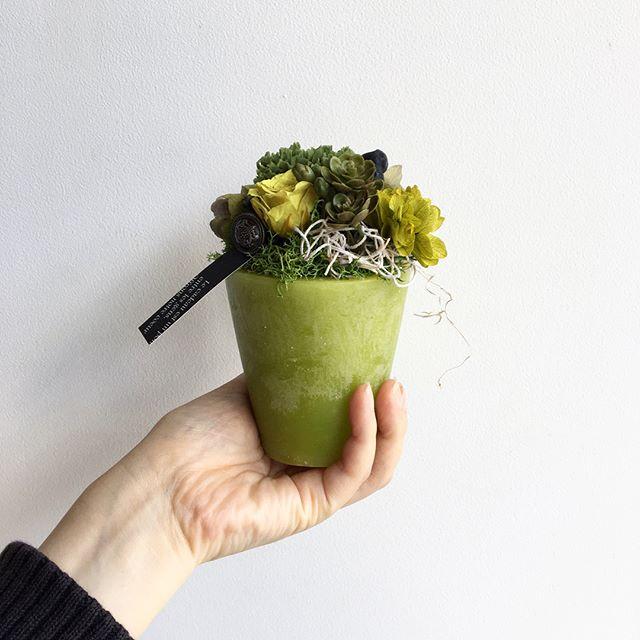 .独特なロウの質感の花器を使ったアレンジメント。.アンティーク感と共にロウに含まれたローズの香りをたのしめます。.HÅUSのプリザのInstagramはこちらからどうぞ↓@haus_flower ..#waxvase #ワックスベース#preservedflower#プリザーブドフラワー #紫陽花#カーネーション#ミニローズ#ユーカリポポラス#モス#hausmatsue #島根#松江