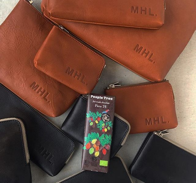 .todaysValentine♡@haus_howell .#MHL#basic leather #peopletree #chocolate#valentine#hausmatsue #島根#松江