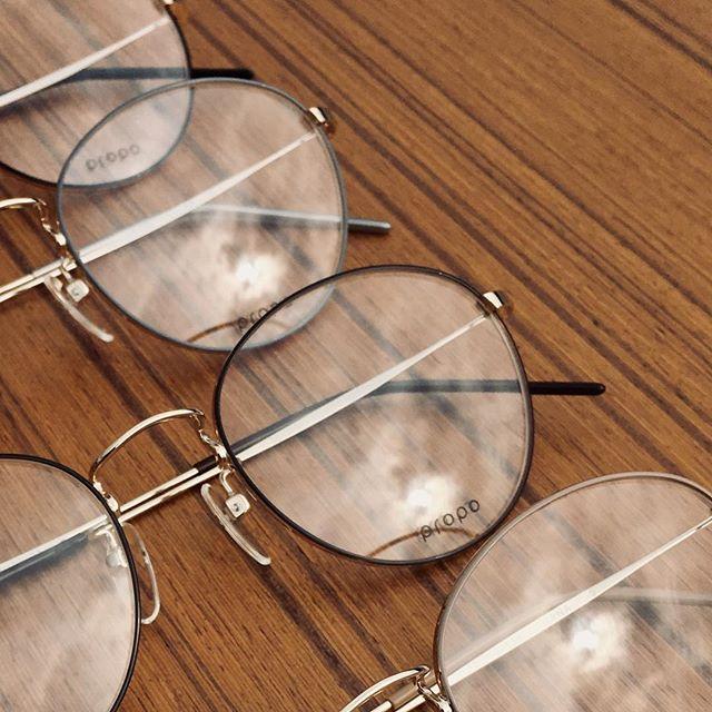 #propoより ひっそりと人気モデルの新色が入荷してます前作のカラーがマイナーチェンジでまったくの別物に・今回はわずかな生産でしたのでカラーによっては一本づつの入荷でごめんなさい#optical#めがね#hausmatsue #島根#松江#松江メガネ#生活に寄り添うメガネ#メガネ男子#メガネ女子#似合う眼鏡探したい#hana