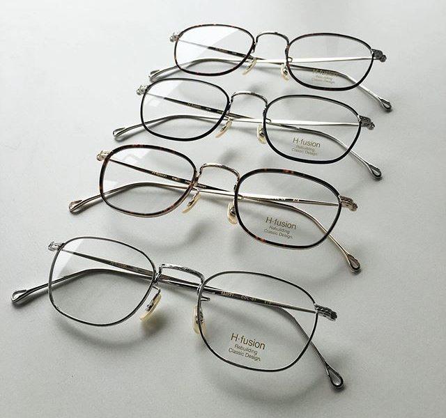 まるいメガネだけではありません・ただのカラー違いだけでなく色のつけかたもそれぞれ違うこだわりです・#h_fusion#optical#めがね#hausmatsue #島根#松江#松江メガネ#生活に寄り添うメガネ