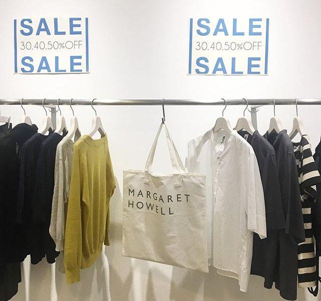 .PRICE DOWN!SALEもラストスパート。さらにお買い求めやすくなったものも♩ぜひこの機会にご来店くださいませ!#margarethowell #MHL#sale #hausmatsue #島根#松江