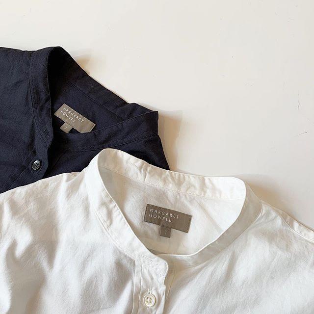 .これからの寒い季節にうれしい着るとふんわりとした手触りで温かみのある優しい風合いのシャツが届きました。軽くて膨らみのある綿糸を使用したコットン素材でフィニッシュに微起毛と柔らかさを出す加工を施してます。colour ホワイト、ネイビーsize  Ⅰ . ⅡHÅUSのハウエルのインスタはこちらです︎@haus_howell . . .#MARGARETHOWELL#SOFT COTTON TWILL#shirt#hausmatsue #島根#松江