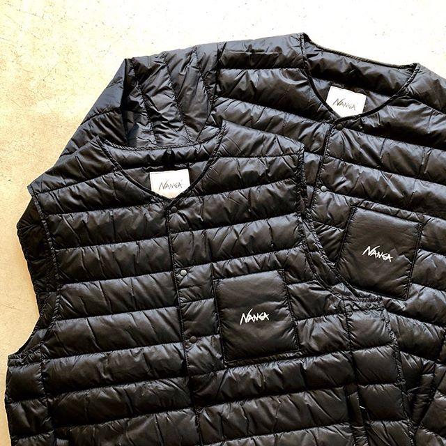 .国内屈指のシュラフ(寝袋)メーカーである「NANGA」からインナーダウンが入荷しております。.非常に軽量で抜群の保温性を発揮する770fpのヨーロピアンダウンダックを使用。表地とダウンそのものに撥水加工を施しているので高品質を長期間にわたり保持します。.男女兼用で各サイズ1点ずつのご用意になります。冬場の重ね着によるストレスにお悩みの方、インナーダウンをお考えというお客様、是非ともお試しください。.#nanga#インナーダウン#ダウンジャケット#ダウンベスト#haus #haus_matsue #hausmatsue #松江カフェ #島根カフェ #松江旅行#島根旅行#松江 #島根 #山陰